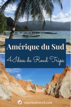 Épingle Itinéraire Amérique du Sud