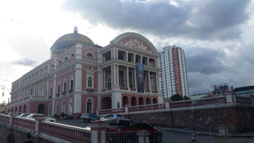 Bâtiment du Théâtre de Manaus