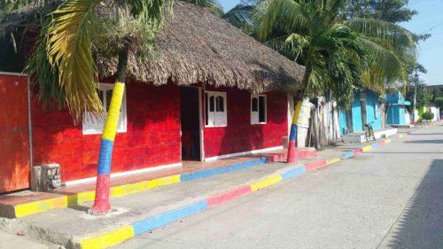 Maison colorée de tolu