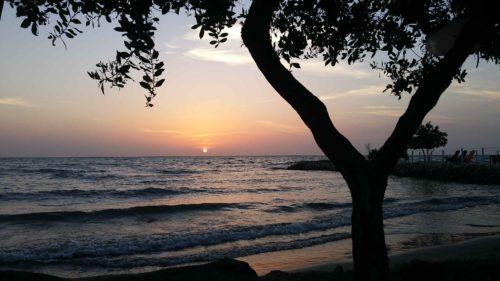 Coucher du soleil à Tolu