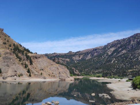Lac avant d'arrivée à Bariloche en Argentine