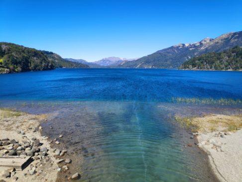 Lac Perirot Moreno sur le circuito chico de bariloche