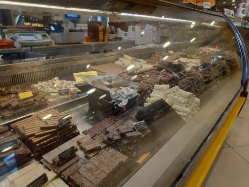 Sélection de chocolats de Rapanui à Bariloche en Argentine