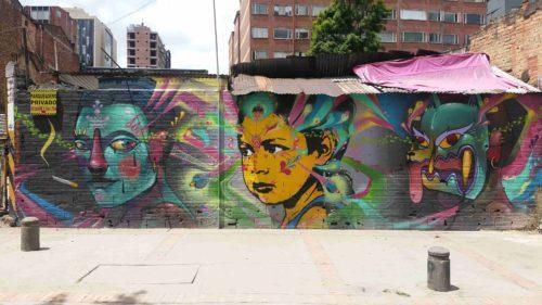Grafitti d'avatar et d'un jeune fille