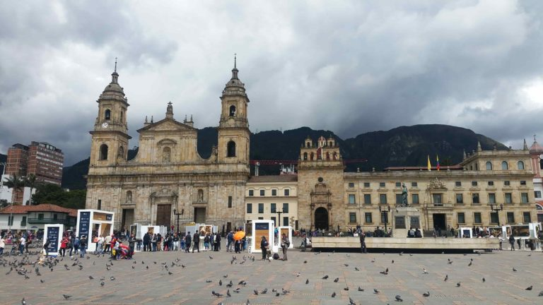 Cathédrale Primada sur la place centrale Bolivar