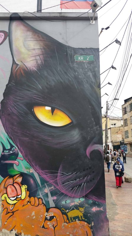Grafitti d'un chat