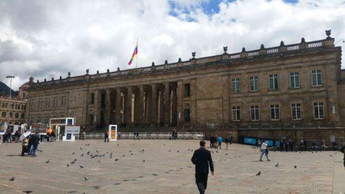 Capitol Nacional depuis la place principale