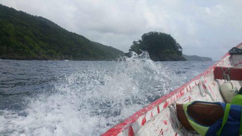 Dans un bateau