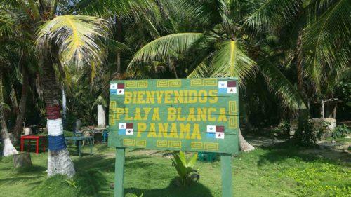 Bienvenue à Playa Blanca au Panama