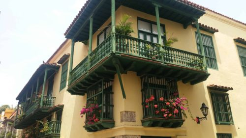 Balcon coloré