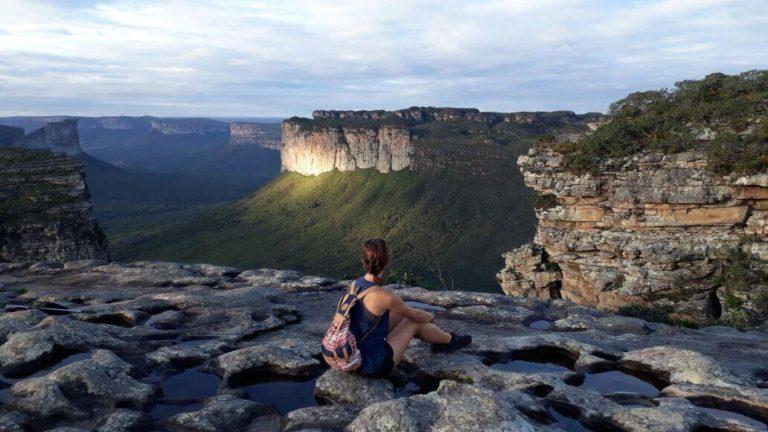Vue sur les montagnes des tres Irmaos dans le Nordeste du brésil