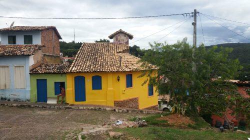 Maison jaune de Lencois