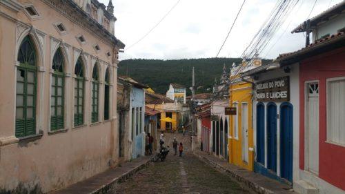 Rue colorée de Lencois
