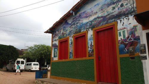Vale do Capao façade décorée