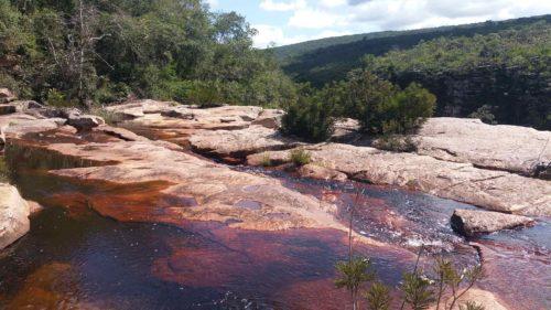 Rivière formant des piscines