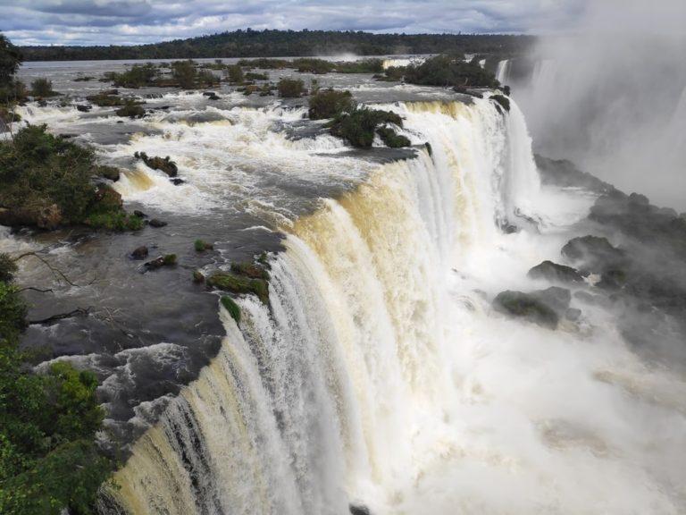 Salto Floriano aux chutes d'iguazu au brésil