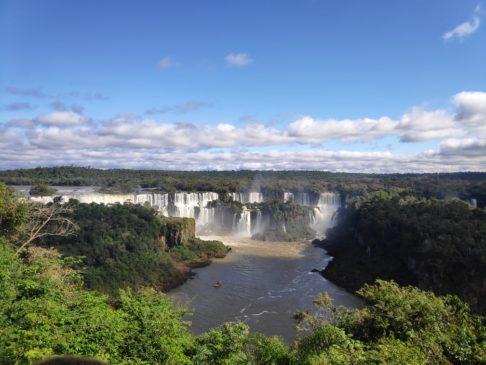 chutes iguazu dans le parc national côté brésilien