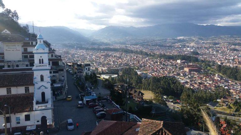 Ville de Cuenca en Équateur