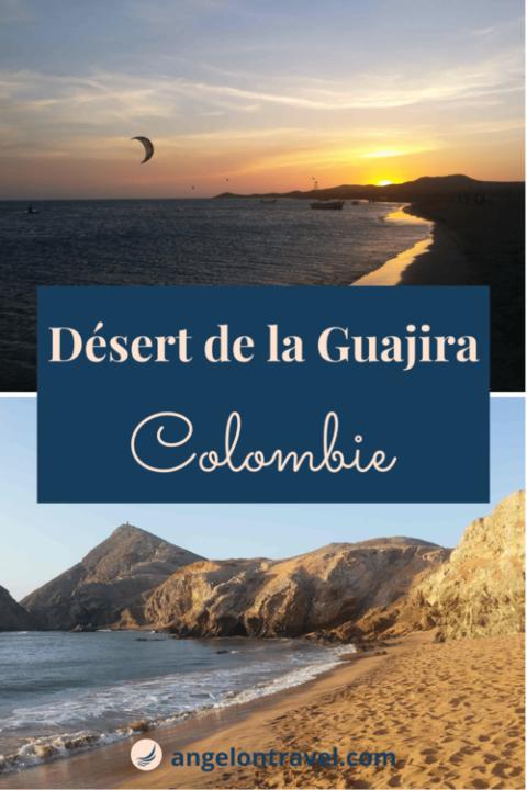 Épingle sur le désert de la Guajira