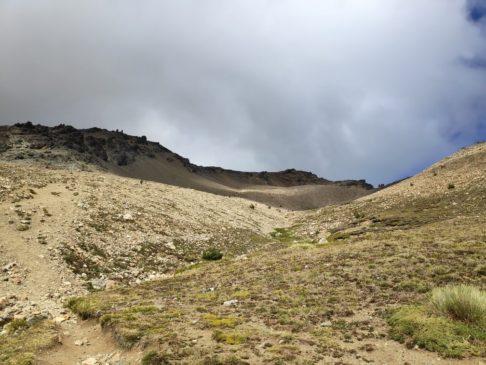 Dernière montée avant le sommet du Piltriquitron