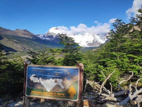 Mirador cerro torre depuis el chalten