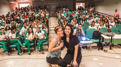 Conférence dans un lycée