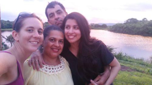 Avec ma famille brésilienne