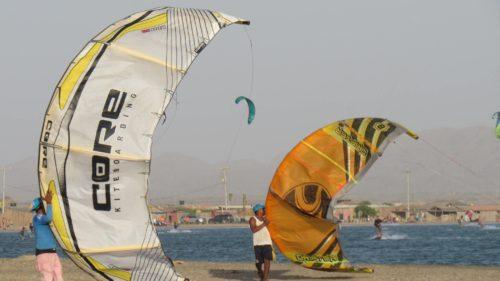 Voiles de kitesurf