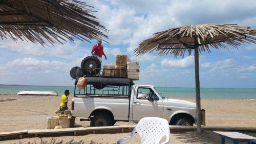 Camion chargé