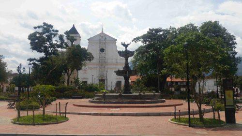 Place et église de Santa Fé