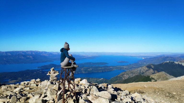 Lac Nahuel huapi en patagonie argentine en Amérique du Sud