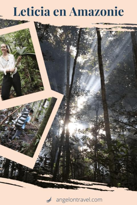 ÉPingle sur mon trek dans la jungle à Leticia