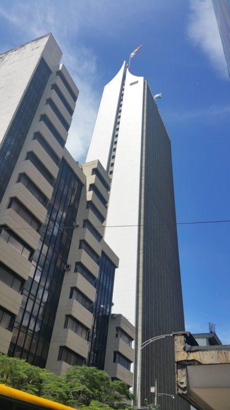 Immeuble en forme d'aiguille
