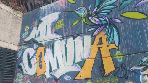Grafitti Mi comuna