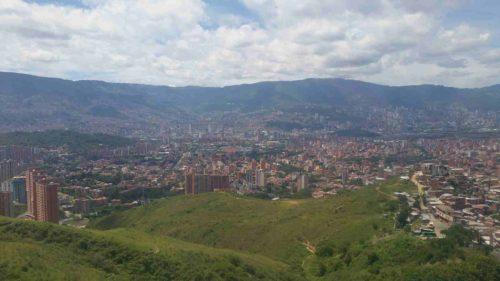 VIlle de Medellin depuis les hauteurs