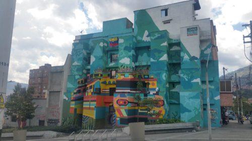 Immeuble peint