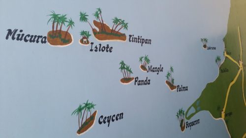 Carte archipel San Bernardo