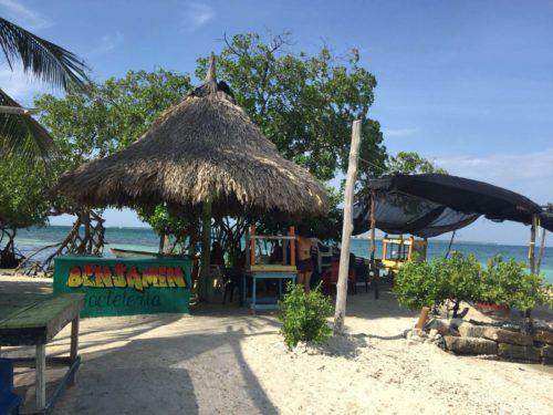 Playa publica Isla Mucura et cabane