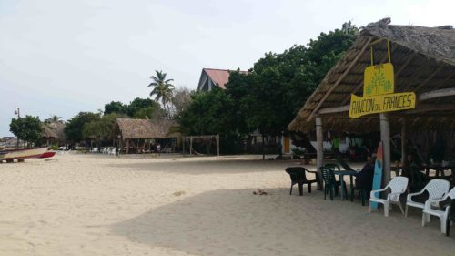Hostel Rincon del Francès sur la plage
