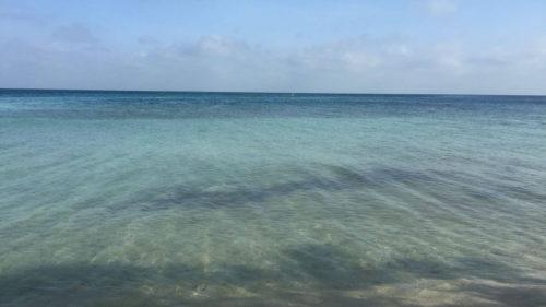 Eau turquoise Isla Mucura