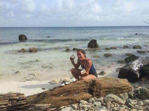 Ouverture de noix de coco Isla Mucura