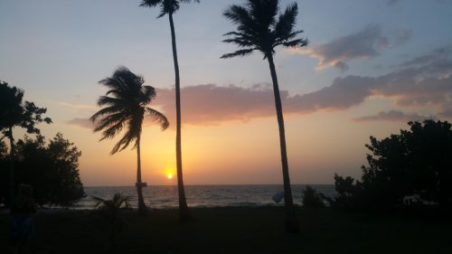 Coucher de soleil Isla Mucura