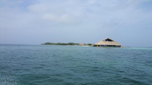 Isla Tintinpan depuis la mer