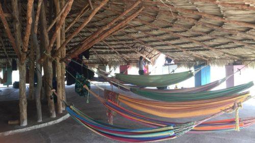 Hostel Isla Mucura hamacs