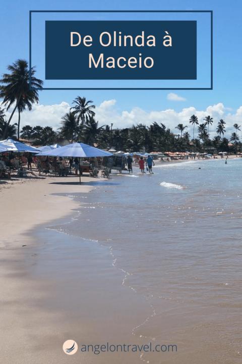 De OLinda à Maceio