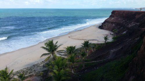 Praia do Amor en contrebas