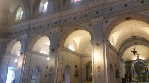 Voûtes de l'église de Popayan