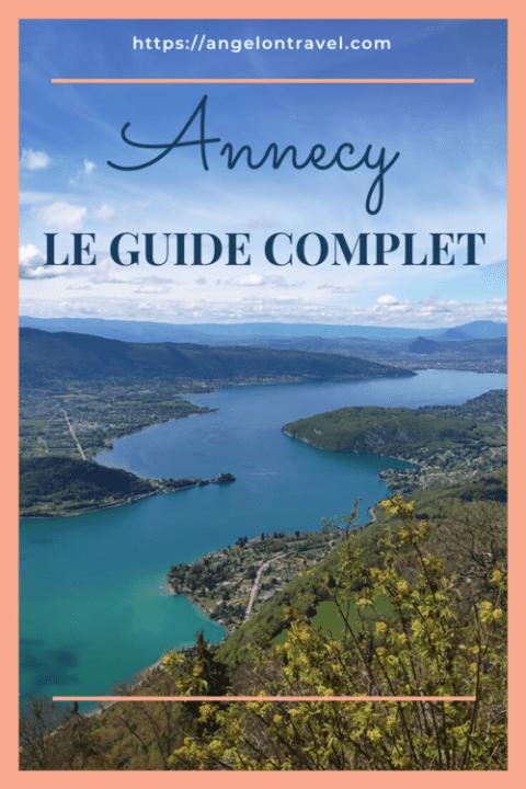 Épingle que faire à Annecy