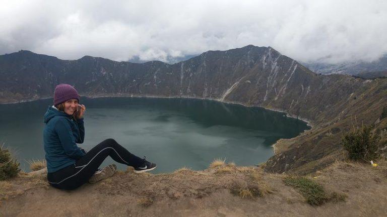 Quilotoa en Équateur