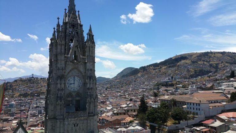 Cathédrale de Quito en Équateur